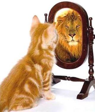 self-esteem mirror