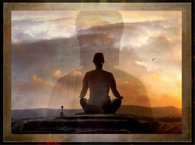 Meditation by h.koppdelaney
