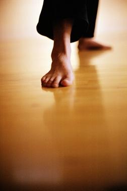 triangle feet