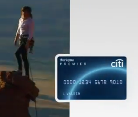 citi credit card climbing commercial