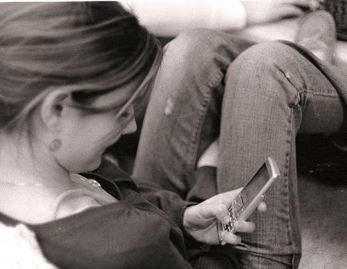 texting. (Flickr)