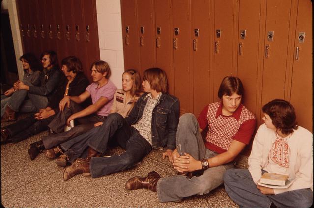 Highschoolers circa 1975