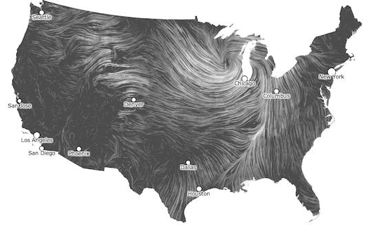 map wind usa