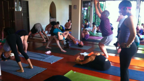 Mysore Style Ashtanga Yoga with Kino and Tim at Koh Samui