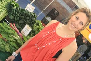 Katrina at Santa Monica, Farmers Market