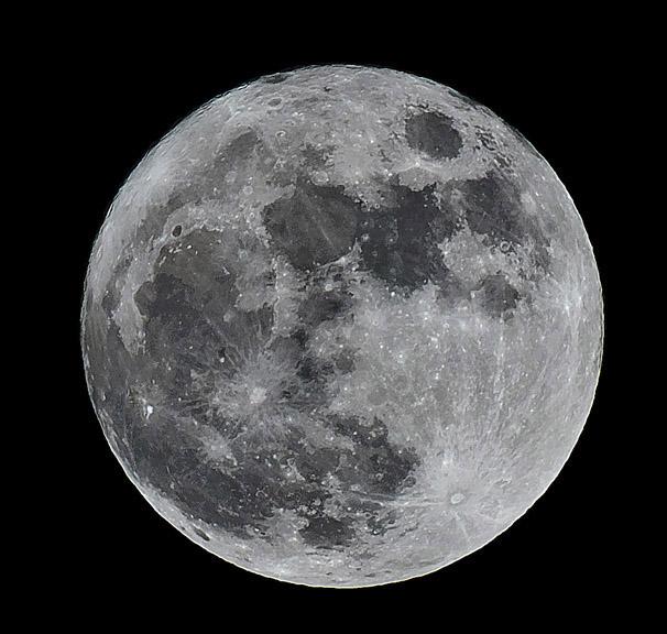 Full Moon over Ojai.