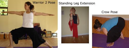 Strength postures