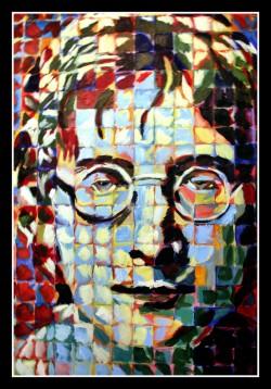 John Lennon Hand Painted by my boss Ryan Oyer