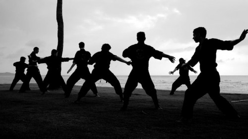 Ninja Shadow at Rick Tew's NinjaGym™ Martial Arts Training and Fitness Camp in Thailand