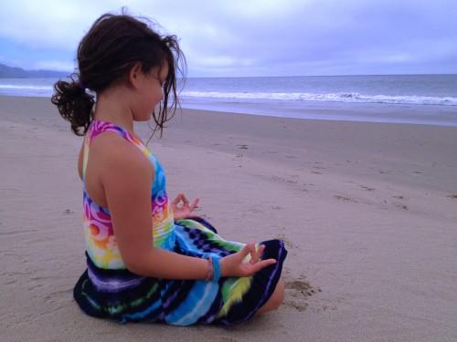Olivia Ginsberg Meditates