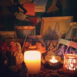 swati's altar
