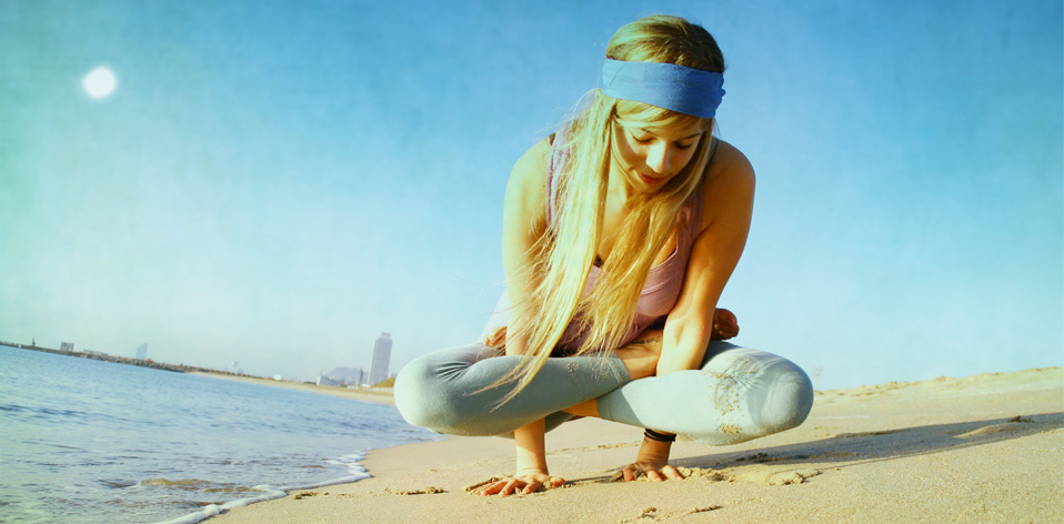 Nina Savidi, from Athens - 'Barceloneta' beach
