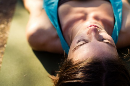 Dappled Shade Savasana