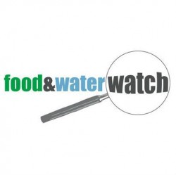 food & water watch logo