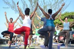 Yoga for a Peaceful Jamaica