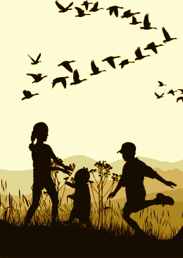 Kids and Blackbirds.