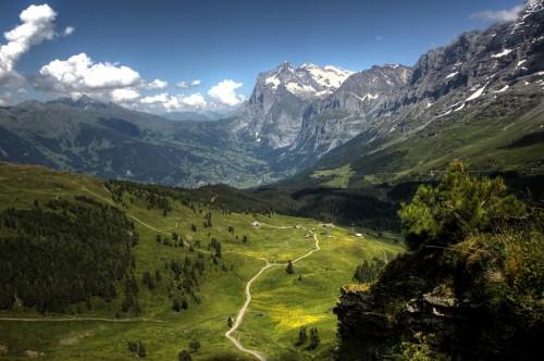 Kleine Scheidegg hiking trails