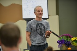 """Rod Stryker, """"If you don't work systematically, you don't know what to expect from your practice?"""""""