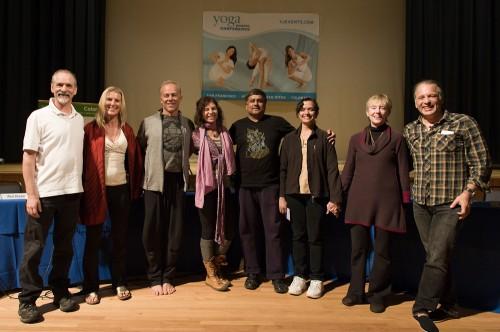 Tantra faculty -  Rod Stryker, Shiva Rea, Gary Kraftsow, Sianna Sherman, Sally Kempton, Manoj and Jhothi Chalam, and Douglas Brooks