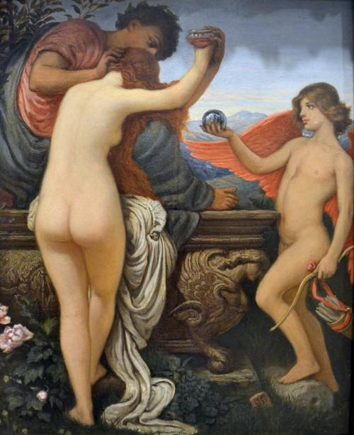 Elihu Vedder (1836-1923) - The Cup of Love (in full color) - Metropolitan Museum of Art, New York, Sep 2012