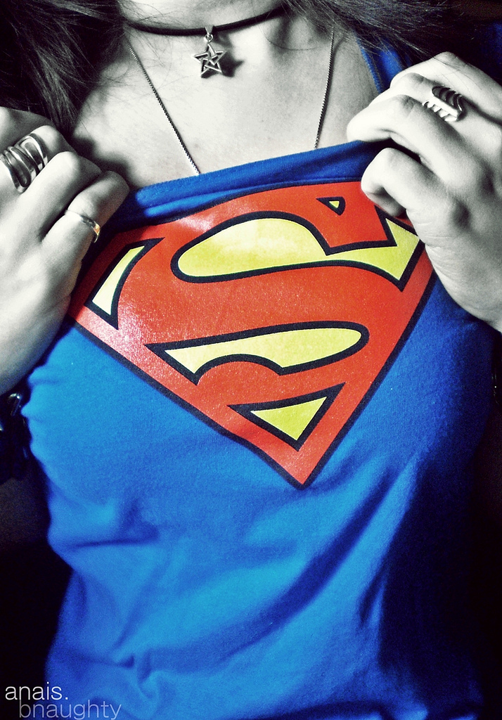 Unleash the super within...