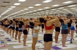 Pranayama (Standing Deep Breathing)-Opening Breathing Posture