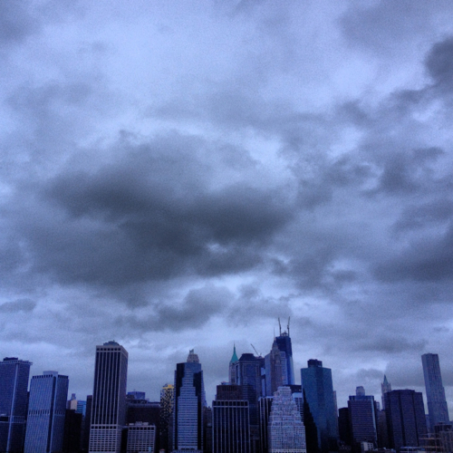 5-NYC sky during the hurricane
