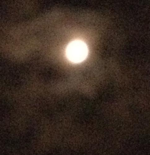 7-Guru Purnima Moon, Bristol, NY