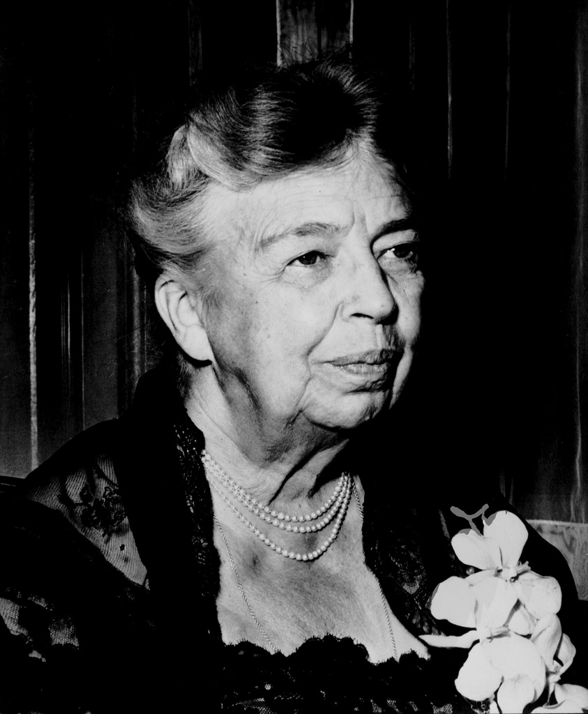 Eleanor Roosevelt was a member of the Women's Trade Union League and in 1946 was elected head of United Nations Human Rights Commission.