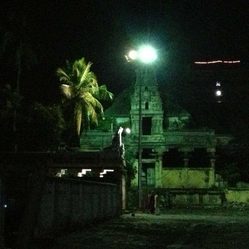 Cidambaram Courtyard at Night (photo-SHR.com)
