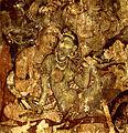 Wall painting in Adjanta caves