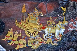 ramayana scene