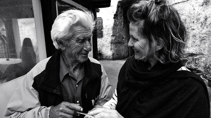 Peggy Markel old man Italy Ashley Mulligan