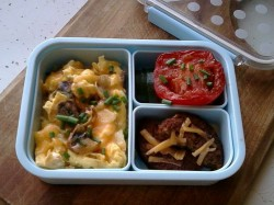 Bento #254: Low-carb, high-fat breakfast!