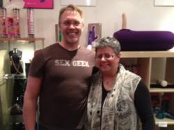 Reid Mihalko and Edie Weinstein