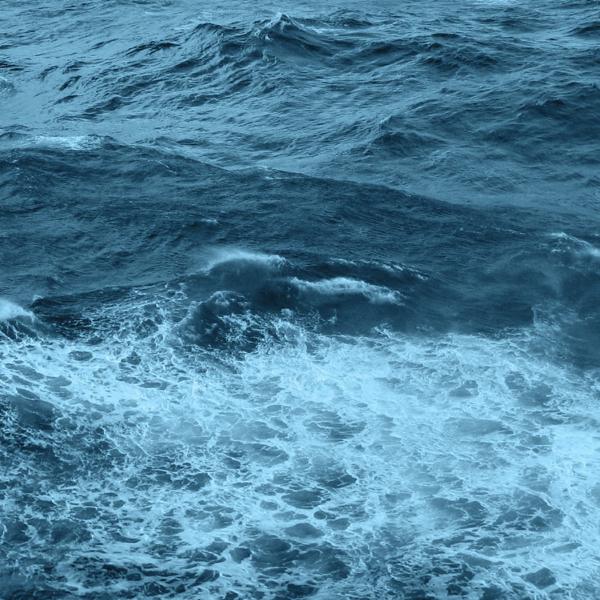 ocean churning