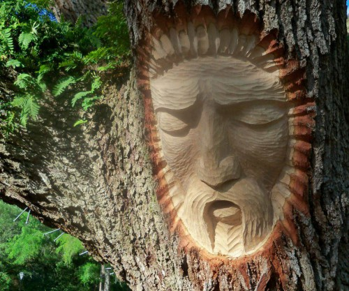 Tree Spirits of St. Simons Island.