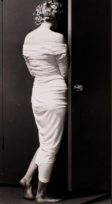 "Marilyn Entering Closet, 1952 from the portfolio ""Halsman/Marilyn"""