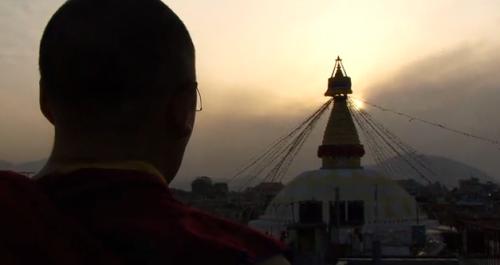 meditation stupa