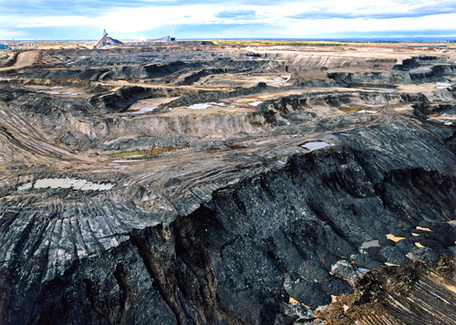 Full production of the oil from tar sands in Canada would add 240 billion tons of carbon dioxide into our atmosphere, severely hampering any efforts to tackle global warming.