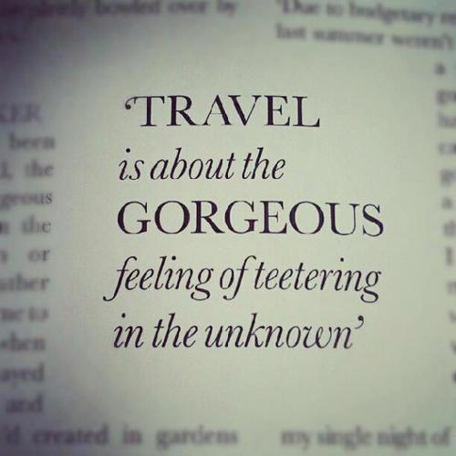 travel unknown quote