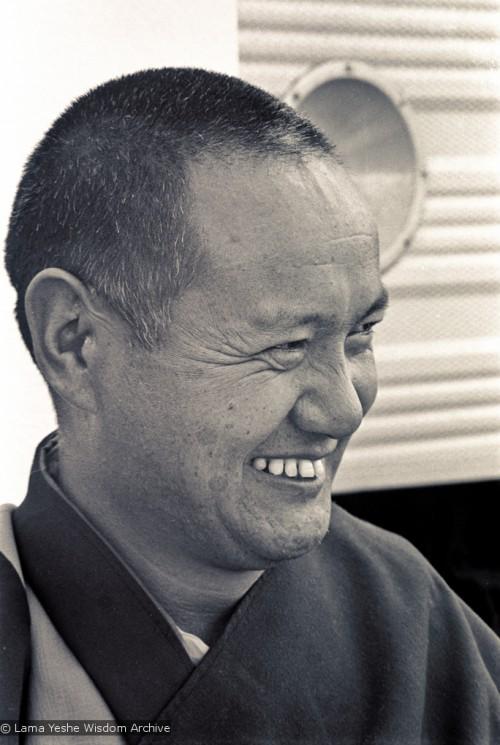 Portrait of Lama Yeshe, 1975