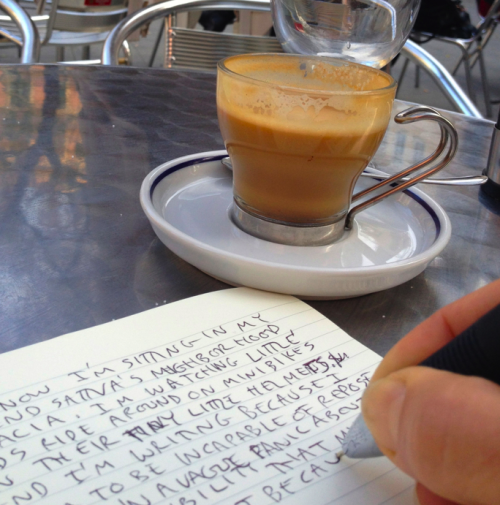 Coffee in the Gràcia neighborhood of Barcelona, SHR.com