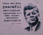 jfk peace kennedy quote
