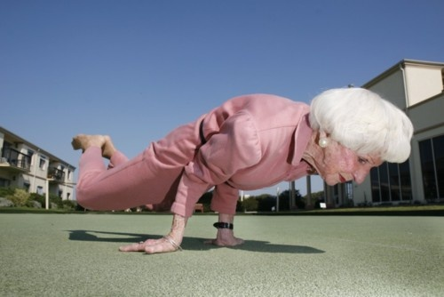 old yoga aging