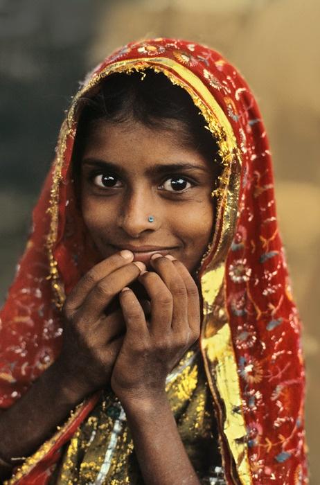 Village Girl, Jaipur, India, 1982