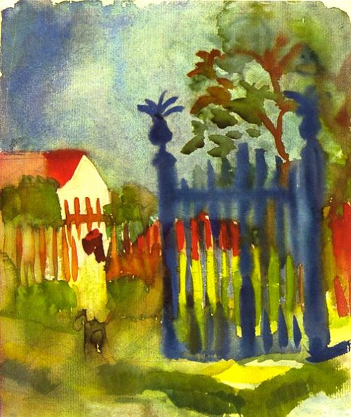 Credit: August Macke [Public domain], via Wikimedia Commons