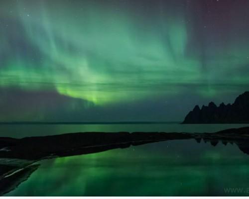screen capture northern lights
