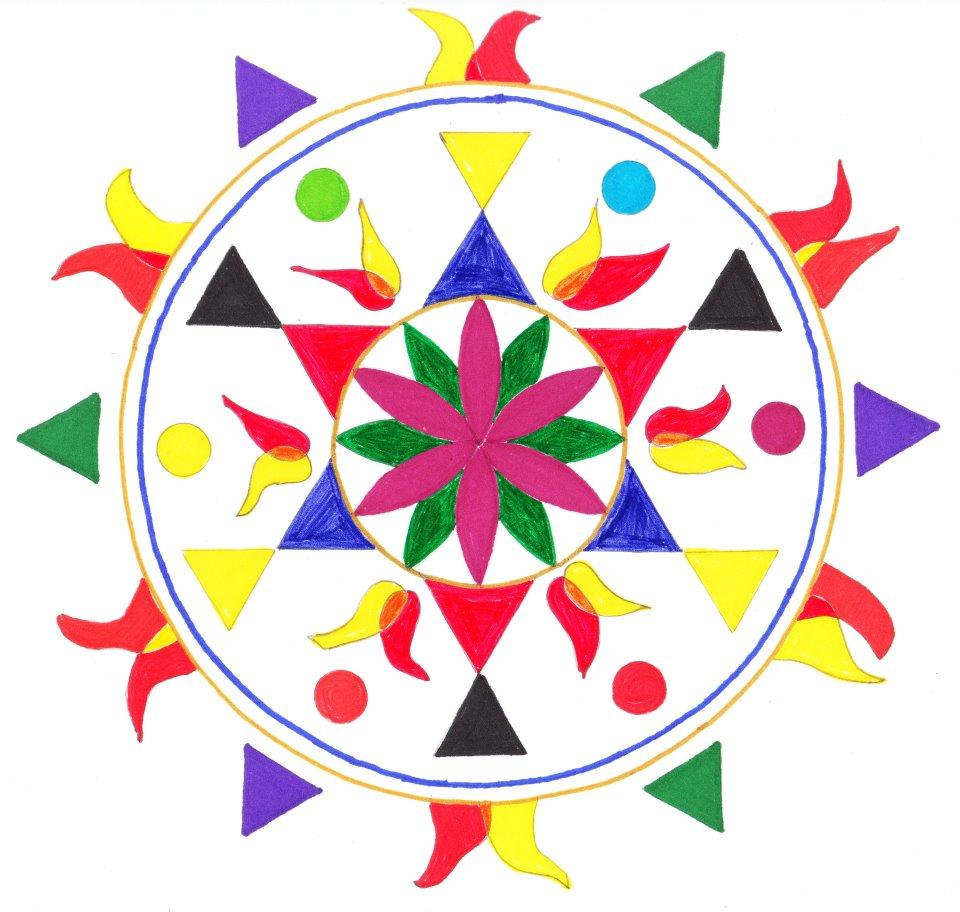 """""""Pentecost: Shiva/Shakti,"""" by Scott Robinson"""