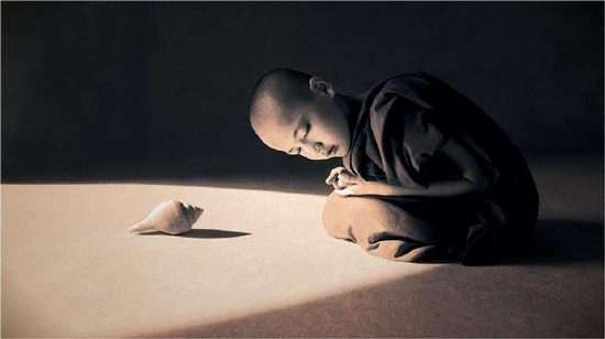 buddhist child